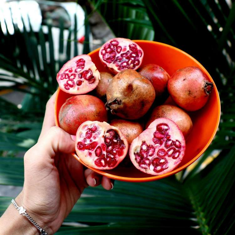 pomegranate for better T level