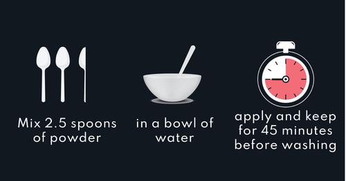 Wash with a mild shampoo. Use twice a week.
